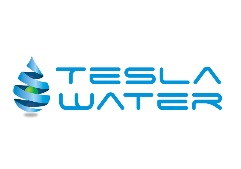 2-Tesla-Water-Logo-design